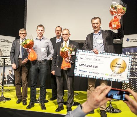 Simplex Motion tog hem Inission Innovation Award 2016