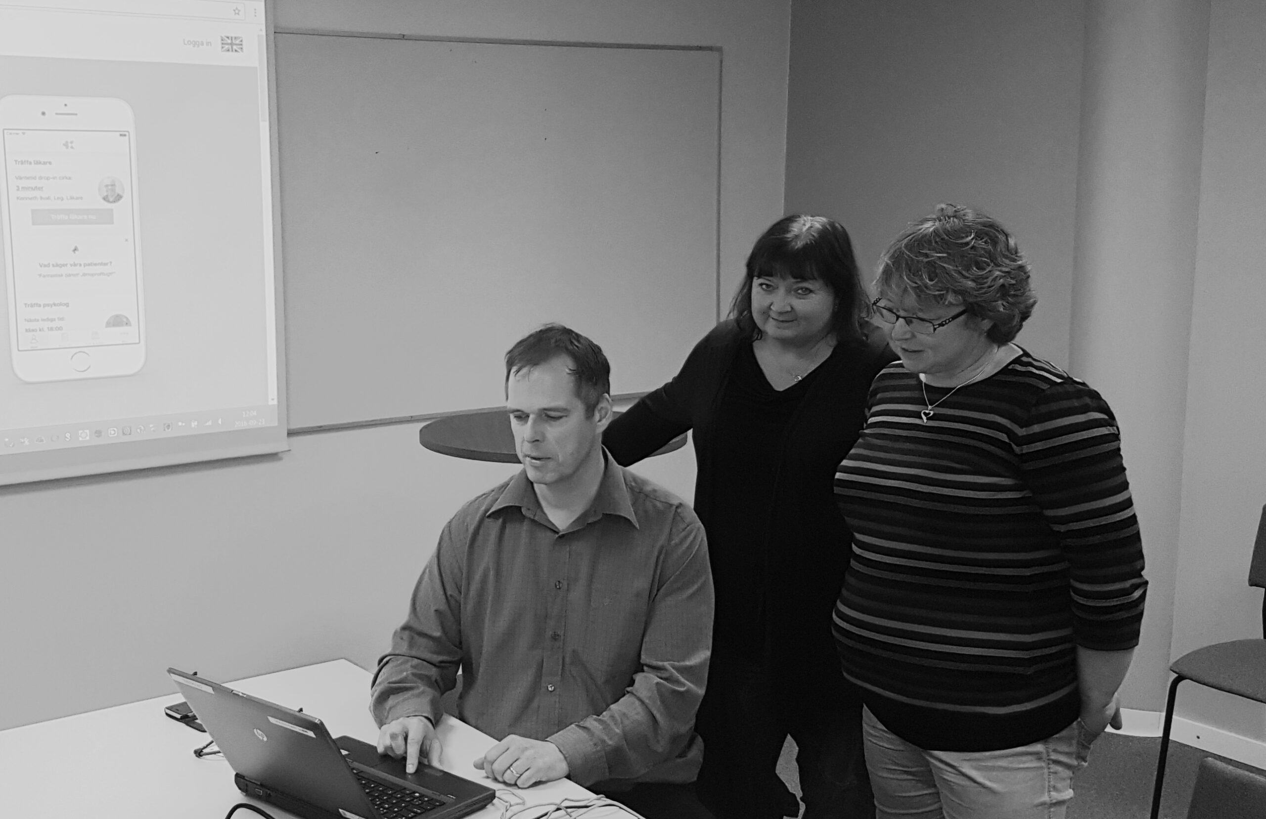Användbarhet i fokus på läkarvisning av IT-system på Nordic Medtest
