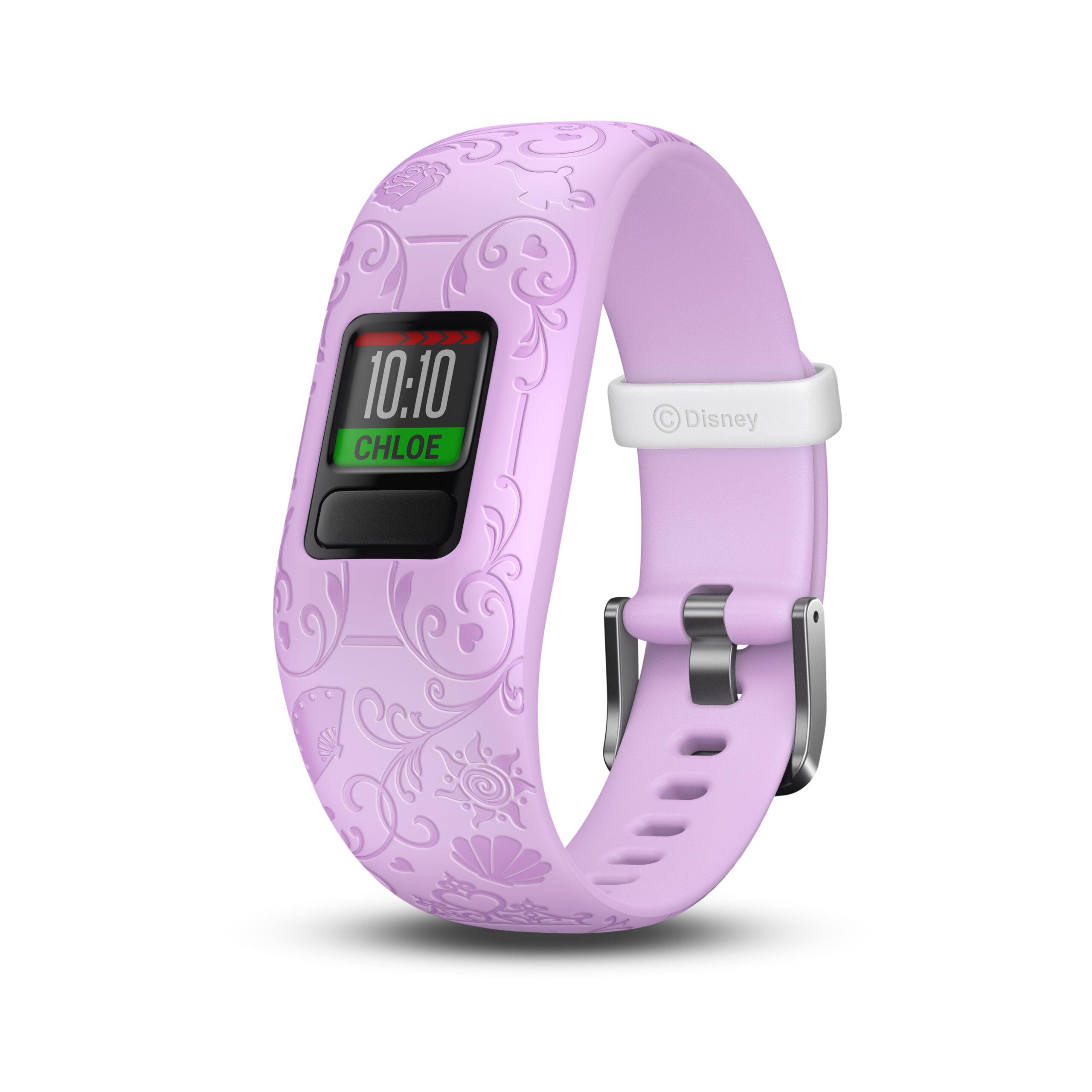Garmin och Disney aktivitetsmätare för barn och interaktiv mobilapp med Disney Princess