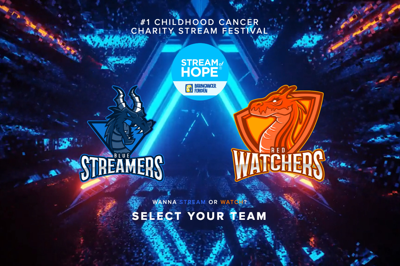 #1 Childhood Cancer Charity STREAM festival 22
