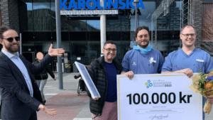 AR-teknik för navigering vid ryggkirurgi vann Innovation Award 2021