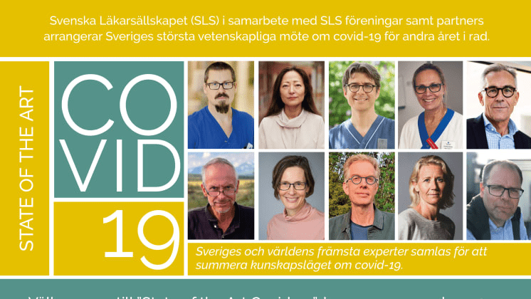 Ledande experter samlas till Sveriges största vetenskapliga möte om covid-19