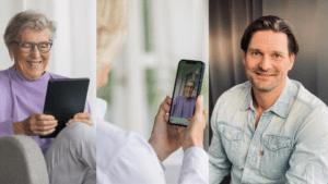 Smålänningen Daniel Straume pitchar sin videosamtals-app i sista Draknästet